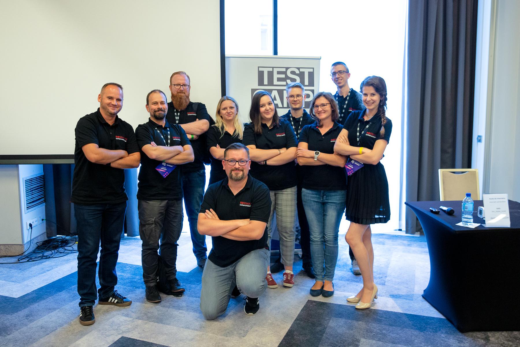 Zespół testerów konferencja TestCamp2019