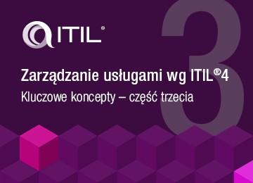 ITIL Zarządzanie usługami wg ITIL 4 - Kluczowe koncepty - część trzecia